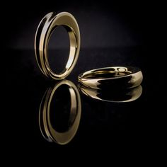 Flux Jewelry Convex and Concave stacking rings