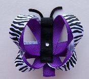 Butterfly - Purple Zebra
