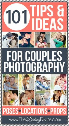 101 Tips & Ideas for Couples Photography. TONS of posing, location, and prop ideas and inspiration! Perfect for engagement and wedding pictures, an anniversary photo shoot, OR just to grab a couple great pictures of the parents during family pictures! Photography Tutorials, Couple Photography, Engagement Photography, Photography Poses, Engagement Photos, Wedding Photography, Poses Photo, Picture Poses, Photo Tips