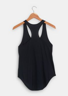 Organic Pima Cotton Shirttail Tank. I want this in every color! 40$