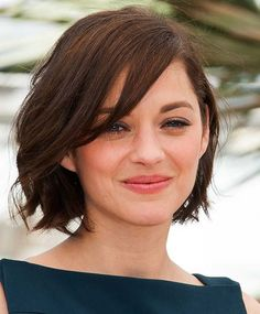 100 Short Hairstyles for Women 2014: Marion Cotillard