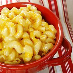 Slow Cooker Mac and Cheese 6 cups pasta, uncooked (~1.5 lbs) 6 Tbl unsalted butter 16 oz Velveeta cheese, cubed 2 1/2 cup shredded sharp cheddar cheese 2 tsp Dijon mustard 2 cups milk (1 pint = 16 oz) 1 cup heavy cream (1/2 pint = 8 oz) 2 tsp salt 1/2 tsp pepper Cook pasta in salted boiling water for 5 minutes   Drain and place in the slow cooker or chill for later assembly Add the remaining ingredients to the pasta and stir until well combined Cook on high for 1-2 hours stirring every 15…