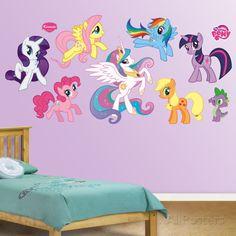 My Little Pony Collection Muursticker bij AllPosters.nl
