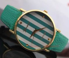fashion watches - stripes watches, men and women watch, students watch, unique watches on Etsy, $5.99