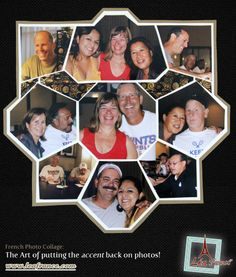 Scrapbook Page Photo Collage