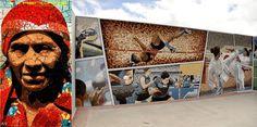 Los Mosaicos de La Esperanza, Intibucá, trascienden en el mundo