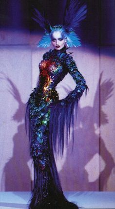 Thierry Mugler ...probably my reception dress...