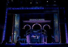 42nd Street. The Paramount Theater. Scenic design by Kevin Depinet.