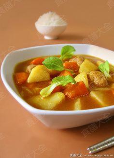咖喱肉丸湯