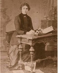 Selma Rıza Feraceli, ilk kadın gazetecimiz. (1872 - 1931)