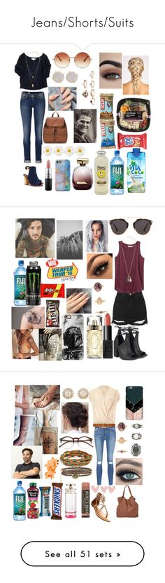"""""""Jeans/Shorts/Suits"""" by winter-n-rose ❤ liked on Polyvore featuring Vita Coco, Elizabeth and James, Tommy Hilfiger, Jules Smith, Tory Burch, MAC Cosmetics, Forever 21, Topshop, Melissa Joy Manning and Nina Ricci"""