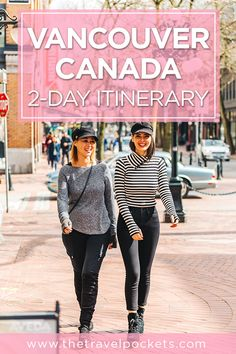 Perfect 2-day itinerary for Vancouver, Canada including Stanley Park, Gastown, Chambar, Kingo, Suspension Bridge and more! #Vancouver #Canada