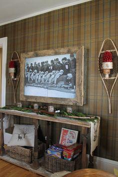 Hammers And High Heels Holiday 2017 Idea House Cozy Up To Alpine Chic Decor Marsha Rainey Hiding Flat Screen Tvs