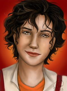 Leo Valdez, son of Hephaestus. I love him so much (I kinda have to, he's my brother xD)! And this isn't quite how I imagine him, but the art is still incredible.