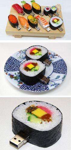 fun tech | sushi usb ❤️vanuska❤️