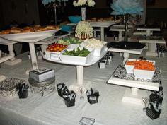 wedding decor diy pedestals