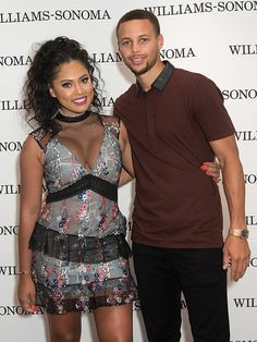 Ayesha and Steph Curry - Black Love Is Beautiful! 19 Famous Couples Who Make Forever Look Easy Stephen Curry Ayesha Curry, Ayesha And Steph Curry, Stephen Curry Family, The Curry Family, Black Love, Black Is Beautiful, Beautiful People, Black Men, Love And Basketball