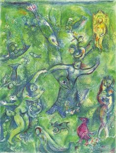 Abdullah discovered before him… by Marc Chagall