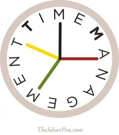 Time management and getting things DONE: http://www.thesilverpen.com/2013/07/22/getting-things-done/