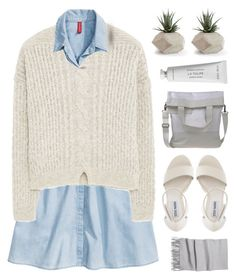 """""""A place for everything, everything in its place."""" by novalikarida ❤ liked on Polyvore featuring H&M, MANGO, MM6 Maison Margiela, Steve Madden and Byredo"""