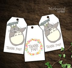 Hey, I found this really awesome Etsy listing at https://www.etsy.com/listing/276372900/totoro-birthday-party-thank-you-tags