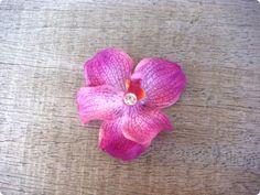 Flower Hair Clips, Flowers In Hair, Purple Orchids, Floral, Etsy, Florals, Flower, Flowers, Flower Clips