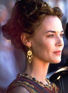 "mademoisellelapiquante: ""Connie Nielsen come Lucilla in Gladiator - 2000"","