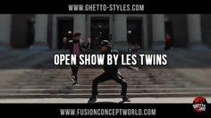 """Open Show """"Les Twins"""" Fusion Concept August 30th Paris"""