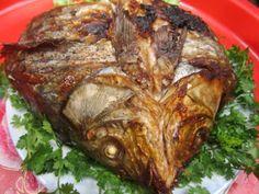 Món cá gập nướng