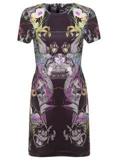 Floral Print Panel Dress - Dresses - Clothing Panel Dress 24664167a4