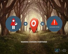 Warning changes everything. Advertising Agency: La chose, Paris, France Executive Creative Director: Pascal Gregoire Creative Directors: Ibrahim