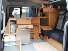 Kintail:  Converted by Stephen in our Inverness workshop, Kintail has been purposely designed and built to suit the needs of our rental customers. Everything has been designed to make the campervan simple to use. A porta potti is easily accessible day and night and there are lots of storage lockers.
