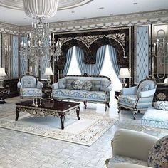 art deco home Country Interior Design, Luxury Interior Design, Luxury Rooms, Luxury Living, Living Room Designs, Living Room Decor, Plafond Design, Mansion Interior, Luxury Furniture