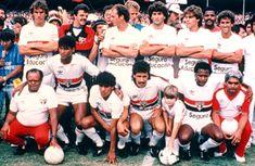 CAMPEÃO PAULISTA DE 1985 Oscar, Gilmar, Falcão, Dario Pereira, Nelsinho, ZéTeodoro, Muller, Silas, Careca, Sidney. (Cadê o Marcio Araújo?)