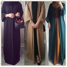 "bestseller shop - Buy ""Abaya Dubai Muslim Dress Kaftan Kimono Bangladesh Robe Musulmane Islamic Clothing Caftan Marocain Turkish UAE Eid Gift Part"" for only USD. Abaya Dubai, Saudi Abaya, Abaya Fashion, Muslim Fashion, Fashion Outfits, Abaya Designs Dubai, Habits Musulmans, Mode Abaya, Muslim Dress"
