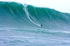 Dan 'Mole' Joel, Aileens 2005 -Surfing in Lahinch, Ireland. Photo by Mickey Smith.