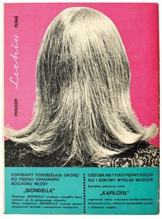 Ty i Ja (Me and You) - Back view of shoulder length hair - black and white, rose, aqua