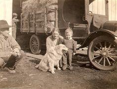 Yenni Ranch 1900's Jacob, Lora, Glenn Yenni