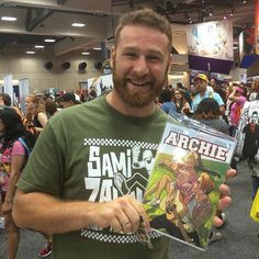 WWE Superstar Sami Zayn with the all new ARCHIE #1! http://ift.tt/1JV3ahu