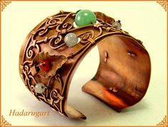 Bratara din cupru handmade by hadarugart on DeviantArt