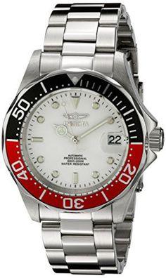 Invicta herren armbanduhr xl chronograph quarz edelstahl 0069
