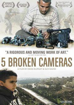 BURNAT EMAD - 5 Broken Cameras - Films documentaires - FILMS - Renaud-Bray.com - Ma librairie coup de coeur