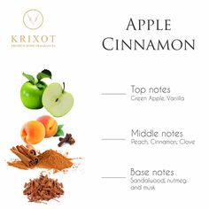 Yet another premium fragrance by #Krixot. Relish the new Apple Cinnamon aroma to liven up your spirits!