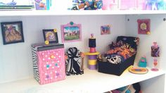 Bookcase doll house furniture