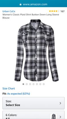"This is a lot like the shirt Amy wore in ""In the Cards. Heartland Ranch, Amy, Size Chart, Plaid, Blazer, Blouse, Classic, Cards, How To Wear"