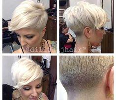 18.Blonde Pixie Cut