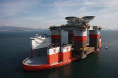 DOCKWISE SUCCESSFULLY LOADED THE WORLD'S LARGEST OFFSHORE PLATFORM HULL