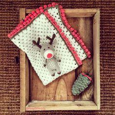"632 Me gusta, 28 comentarios - @prenzlzwerg en Instagram: ""Reinhold the Reindeer! . . . #handmade #handmadedoll #crochet #crochetdoll #amigurumi…"""