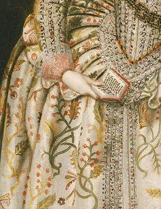 Robert Peake Portrait Princesse Elisabeth future reine de Bohême 17°S