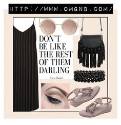 """""""OMGNB 6"""" by amilasahbazovic ❤ liked on Polyvore featuring xO Design, River Island, MANGO, Bling Jewelry and Mehron"""